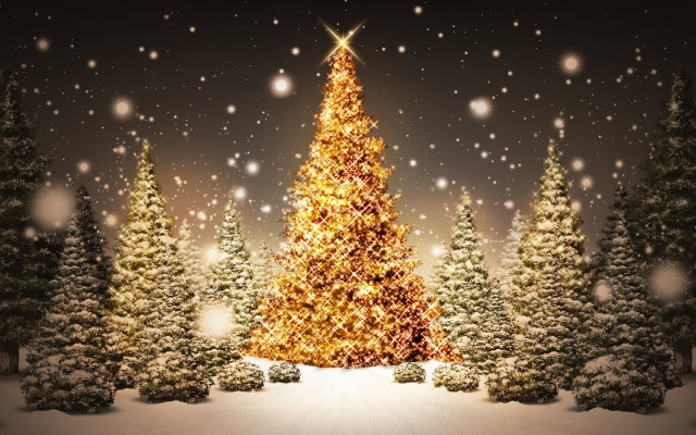 Fondo de pantalla La magia de la Navidad