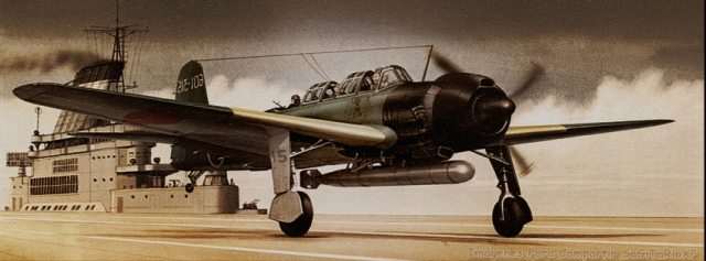 Avioneta lanzatorpedos japonesa, guerra mundial !