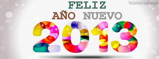 Imagen de Feliz Año Nuevo 2013 para decorar la biografía de FB