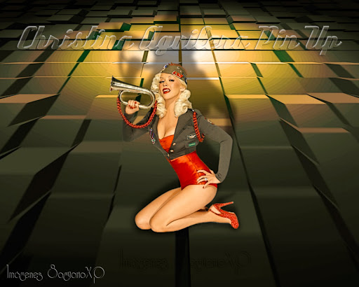 Imagen Pin Up: Christina Aguilera | Wallpaper 3D