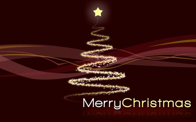 Diseño de Árbol de Navidad, Rojo y Dorado