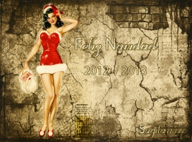 Imagen original | Pin Up Navidad