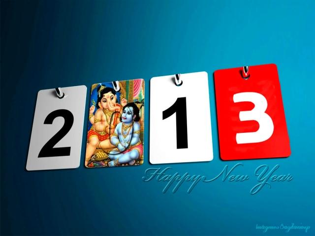 Fondo de pantalla 2013 - Feliz Año Nuevo - Happy New Year