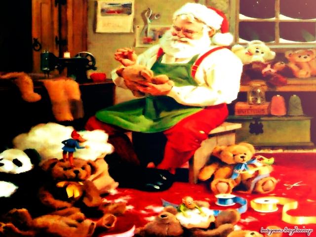 Postal vintage: Santa Cláus | Navidad