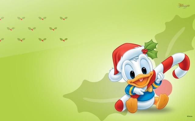 Fondo de Escritorio de Navidad del Bebe Donald