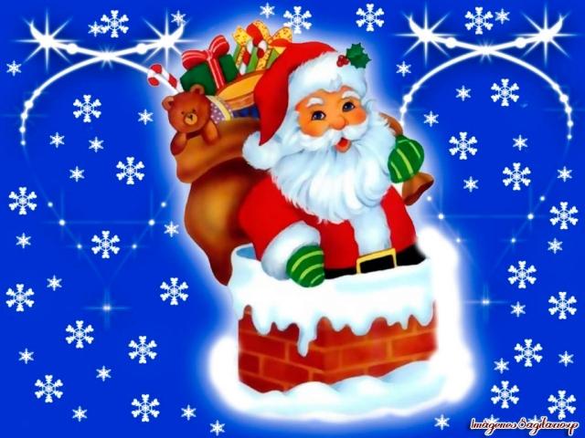 Wallpaper de Navidad | Santa Cláus
