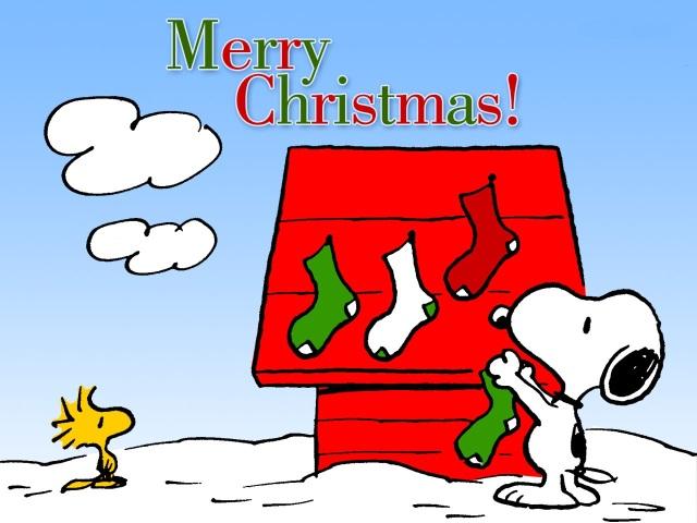 Snoopy y Emilio Merry Chritsmas