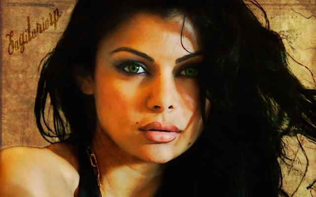 Fondo de pantalla retro | Haifa Wehbe