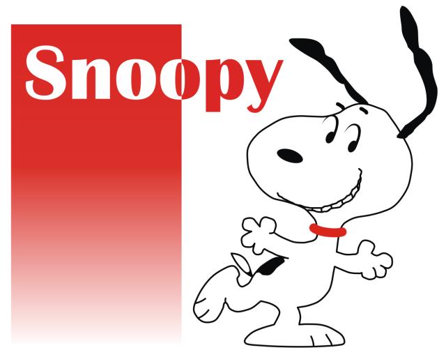 Wallpaper  Snoopy rojo y blanco