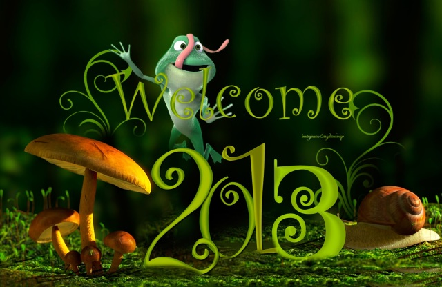 Fondo de pantalla: Feliz 2013 | Año nuevo