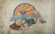 Fondo de pantalla Pin-Up Shoo Shoo Baby | Grunge | Wallpaper