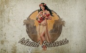 Fondo de pantalla Pin-Up Islan Princess | Grunge | Wallpaper