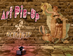 Fondo de pantalla Graffiti Pin-Up | Vintage