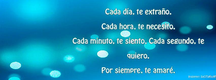 Portada Para Facebook Con Frase De Amor Cada Dia Imagenes Y Fondos