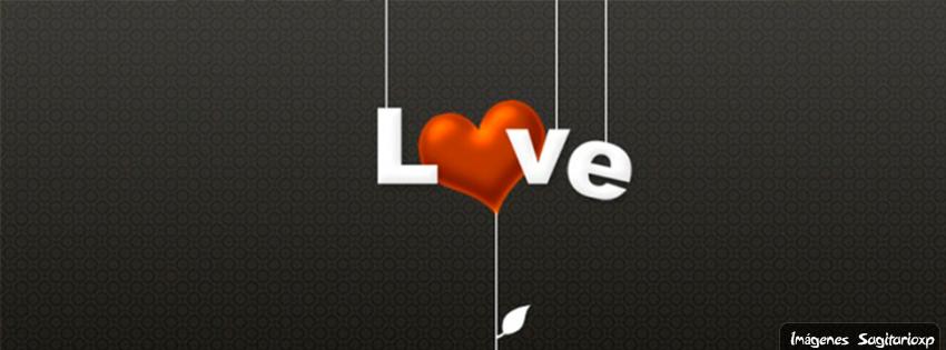 Fondo de portada love