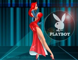 Fondo de pantalla de Playboy | Jessica Rabbit