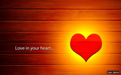 Love in your heart wallpaper textura madera corazon