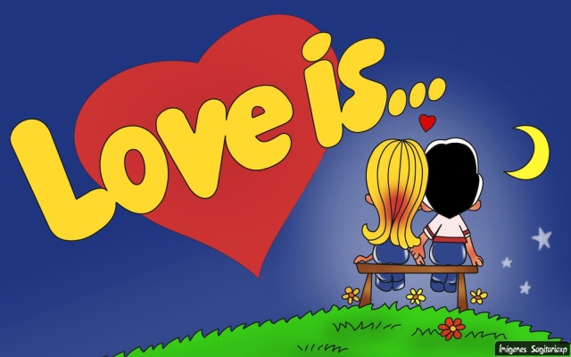 Love is, Wallpaper, Amor es,