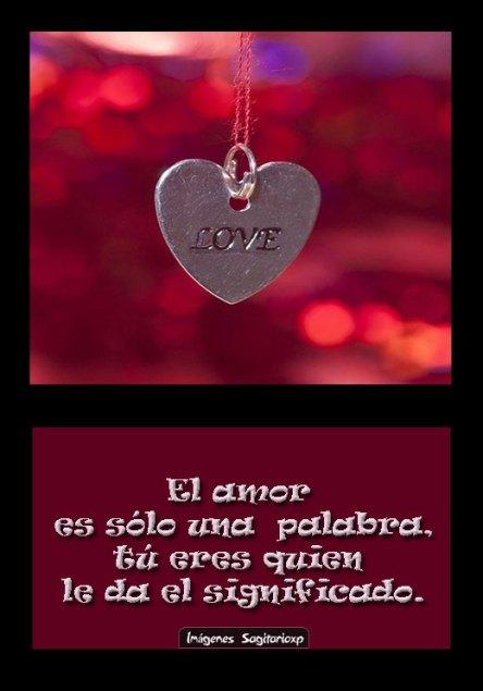 Amor es... | Frases para facebook, corazon,