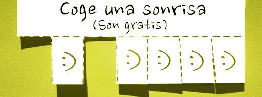 Portada facebook: Coge una sonrisa | 5 colores