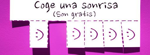 Portada facebook: Coge una sonrisa | 5 colores diferentes
