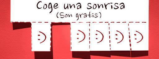 cabecera para facebook: Coge una sonrisa | 5 colores