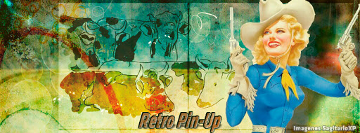 Cabecera de FB Retro vintage: Ranchera | Pin-Up