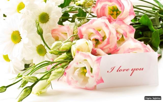Ramo de rosas I love you | Wallpaper