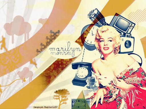 Retro vintage: Fondo de pantalla, wallpaper de Marilyn Monroe
