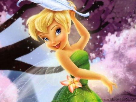 Tinker Bell y Peri Winkle Wallpaper