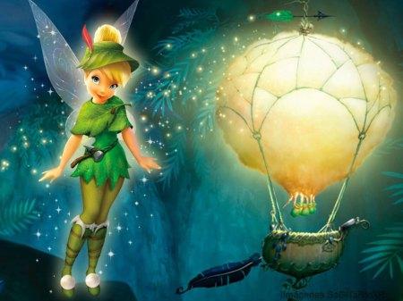Tinker Bell y Peri Winkle