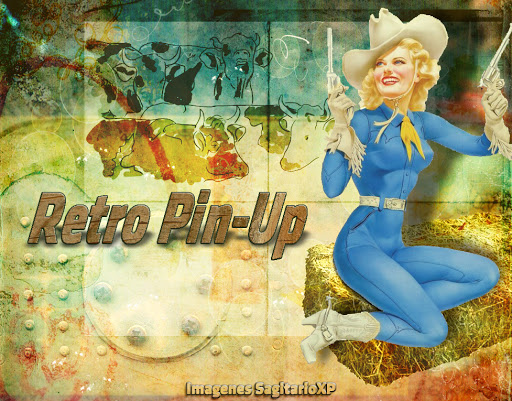 wallpaper Retro Vintage: Ranchera | Pin-Up